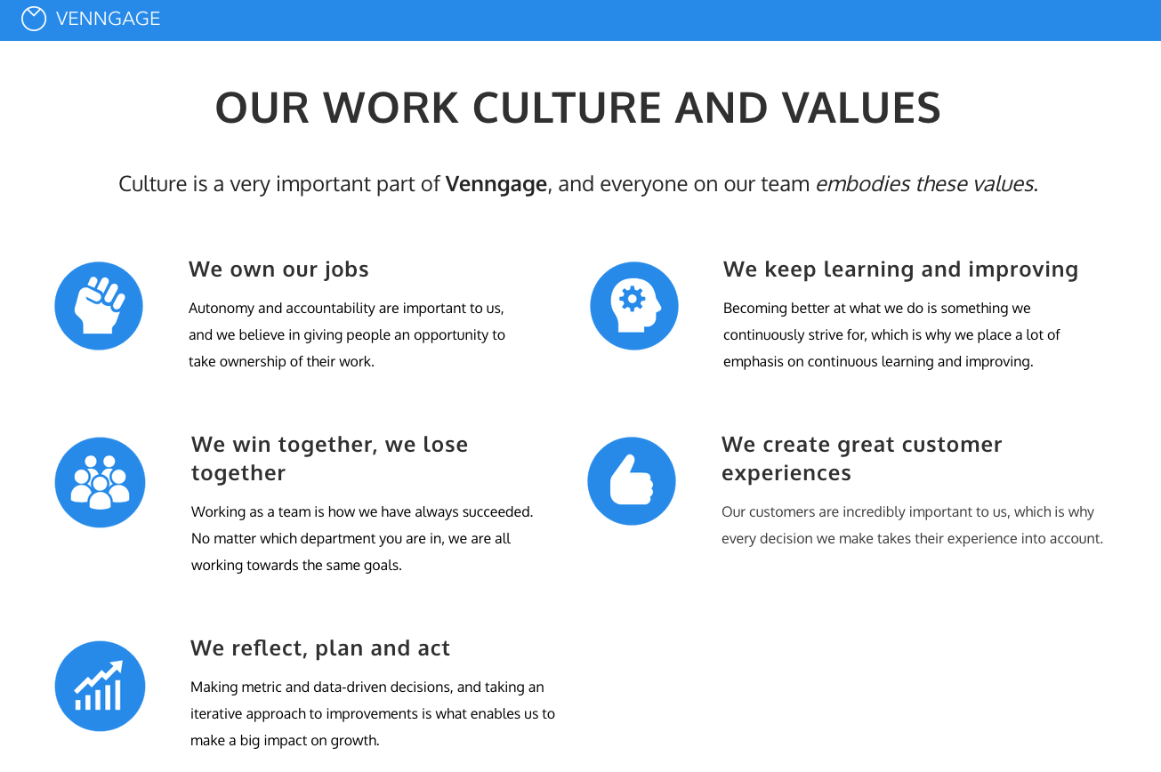 Managment Skills core values